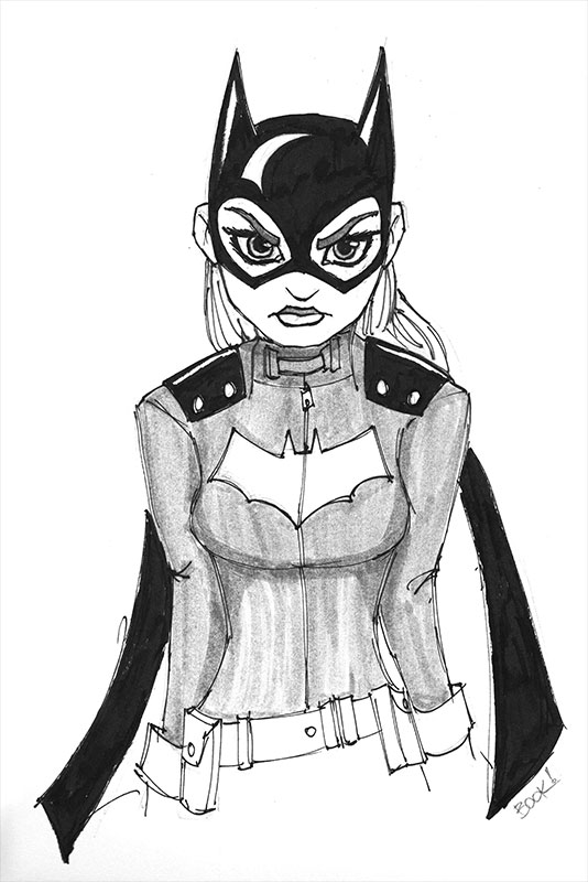 batgirl-inktober-2015