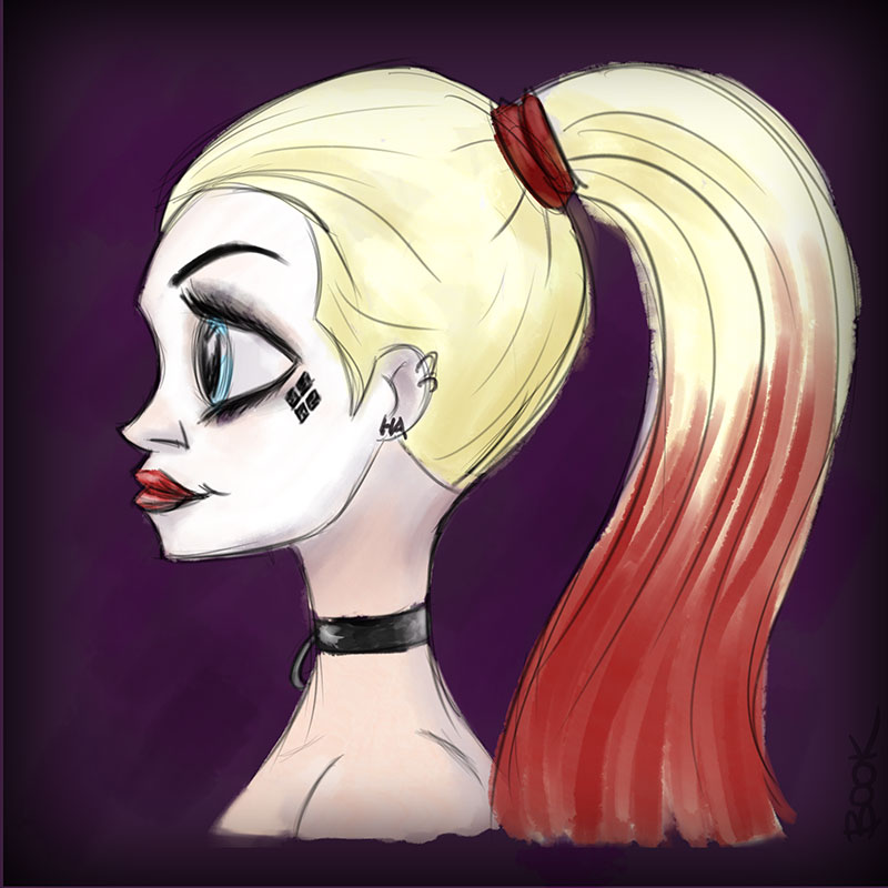 harley-quinn-sketch-color