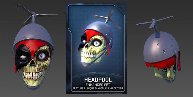 Portfolio josh book animation director art director for Headpool