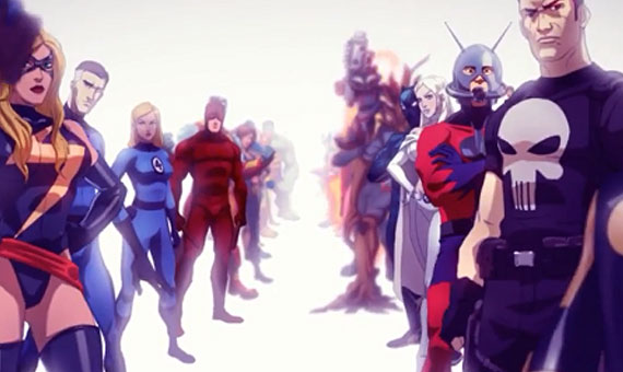 Marvel Heroes Art Director Josh Book on Directing the Opening Cinematic