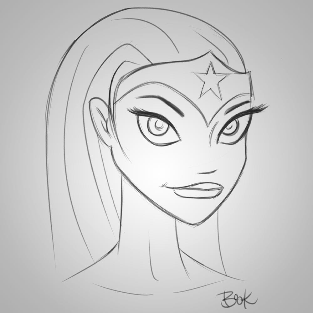 WonderWoman-pencil-sketch